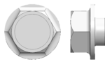 Example image - HEX WASHER