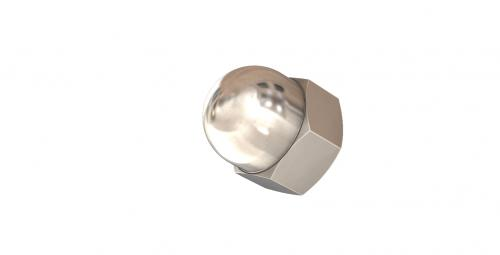 NUT, HEX DOMED (CAP NUT), 316, M10 » Stainless Central